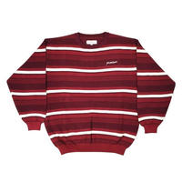 YARDSALE / Mirage Crewneck (BURGUNDY)