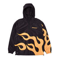 RIPNDIP | FLAMING HOT ANORAK (BLACK)