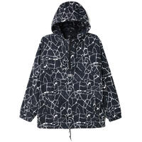 OBEY | CONCRETE ANORAK (BLACK)