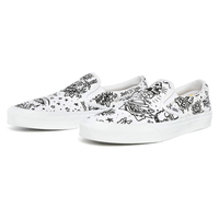 "VANS / CLASSIC SLIP-ON ""Tattoo"" (True White)"
