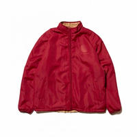 HELLRAZOR / Logo Reversible Fleece Nylon Jacket (Burgundy)
