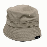 Oh!theGuilt / WASHED JUNGLE HAT (カーキ)