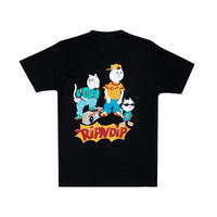 RIPNDIP | NERM AND THE GANG TEE(BLACK)