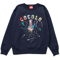 COCOLO BLAND / SPRAY BONG HEAVY CREWNECK (NAVY)