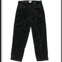 坩堝 | 478 CORDUROY TUCK PANTS (BLACK)