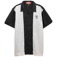 COCOLO BLAND / TWO TONE CAMP SHIRTS (BLACK/CREAM)