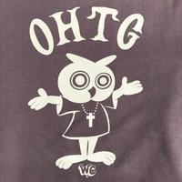 "Oh!theGuilt / W.C Johnny 006:""PASTOR OWL"" CREW SWEAT(ブラウン)"