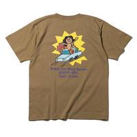 """坩堝   CAR WASH T-Shirts """"RUTSUBO×aimi odawara"""" (SAND)"""