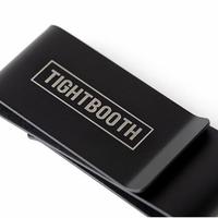 Tightbooth / MONEY CLIP (BLACK)