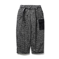 Tightbooth / RAIN CAMO BAGGY PANTS (BLACK)