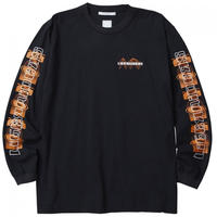 Liberaiders / ORBIT LOGO L/S TEE   (BLACK)