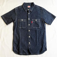 Oh!theGuilt:S/S REAL WORK CHAMBRAY  SHIRT (インディゴ)
