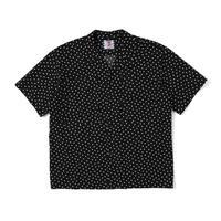 SON OF THE CHEESE  Box Pocket S/S Shirt(Black)