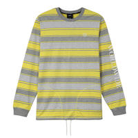 HUF / ESSEX L/S KNIT TOP (AURORA YELLOW)