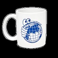 LAST RESORT AB / World Mug (Blue/White)