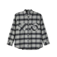 POLAR SKATE CO. / FLANNEL SHIRT (BLACK)