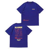 XLARGE|S/S TEE HARDLY WORKING(BLUE)