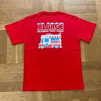 XLARGE|S/S TEE XLARGE×123KLAN ICE CREAM TRUCK(RED)