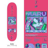 "EVISEN SKATEBOARDSゑ®︎ / MARU ""8.0"""
