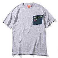 FLATLUX | FTLXAQUA Aqua Pocket2 Tee (grey blue)