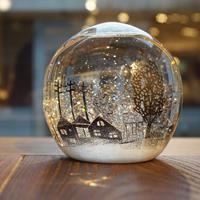 ornament「スノードーム」金津 沙矢香 017580-5-142