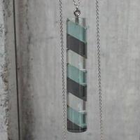 necklace「Cylinder Color (L)」小島 有香子  014810-2-129