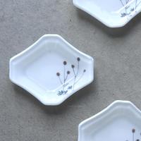 plate「色絵豆皿 ワレモコウ」戸島 邦子 024666-6-443
