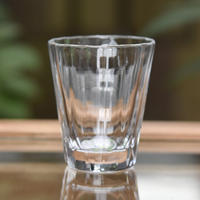 glass「百花景 ショットグラスーもみじ」金津 沙矢香 030685-1-274