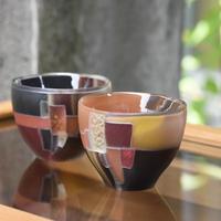 glass「ぐいのみ Mosaic Colors」佐野 猛 028936-1-253