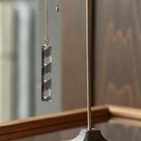 necklace「Bar Black」小島 有香子 024072-1-319