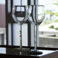 glass「モザイクステムワイングラス」佐野 猛 029574-1-377