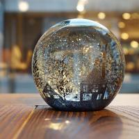 ornament「スノードーム」金津 沙矢香 015513-7-144