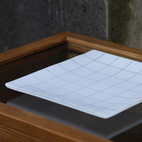 plate「角皿 (中)」戸島 邦子 024666-4-262
