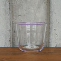 glass「色まきのティーボール purple」 岡田 芙紗子 029304-1-66