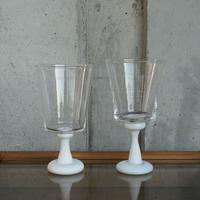 glass「白のうつわ ゴブレット」小宮 崇 030336-2-155