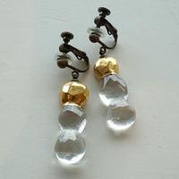 earrings「金彩のイヤリング」 金津 沙矢香 028862-2-46