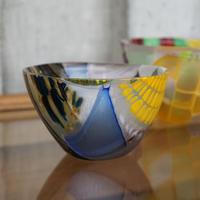 glass「織パッチワークぐいのみ」佐野 曜子 026702-2-121