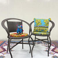 ラタンチェア(籐椅子)シンセティックラタン【typeB】ブラウン