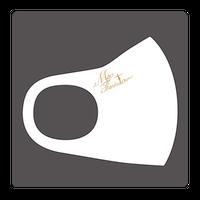 浅田真央サンクスツアー マスク シンプル・ホワイト(ロゴ上)