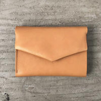 ohta  letter wallet (折り財布) / camel