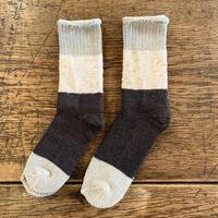 ASEEDONCLÖUD   Seasonal socks  [ Grey Green ]