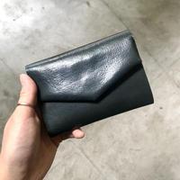 ohta  letter wallet (折り財布)   dark green②