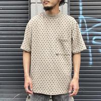 アメリカ製 総柄ポケットTシャツ