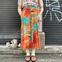 アメリカ製 レーヨン スカート