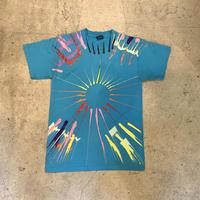 アメリカ製 ペイントTシャツ