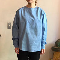 ルーマニア軍 スリーピングシャツ blue  /  Sサイズ