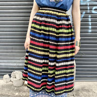 〜1950's グアテマラ刺繍 スカート