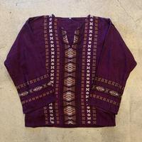 グアテマラ刺繍ブラウス