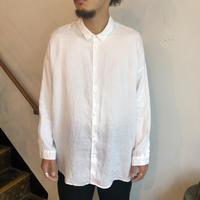 NO  CONTROL  AIR  リネンワイドシャツ white /  M