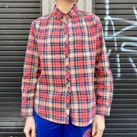 コットン チェックシャツ